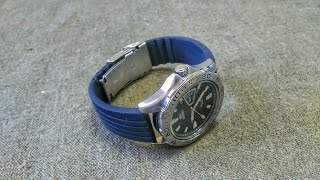 Распаковка резинового ремешка для часов с Aliexpress