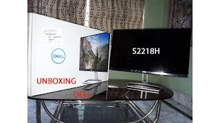Unboxing Dell S2218H Monitor and Full Review