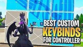 BEST Custom Bindings on PS4 and XBOX 😱 GET FASTER AT BUILDING (Fortnite Custom Key Binds)