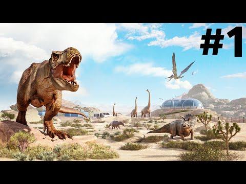 JURASSIC WORLD EVOLUTION 2 Early Gameplay Walkthrough Part 1 - FIRST LOOK