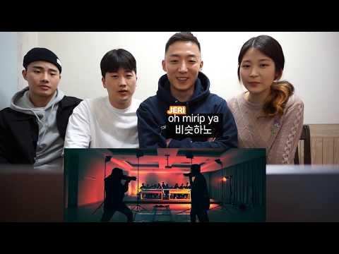 REACTION ORANG KOREA REAKSI 'MIC DROP - GEN HALILINTAR'