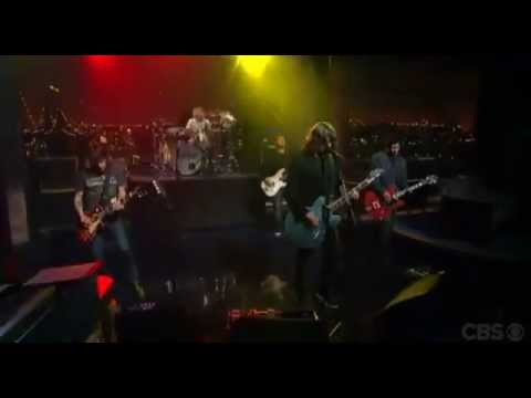 Foo Fighters- 2 Everlong Live-4/12/2011-Ed Sullivan Theatre (Letterman), New York, NY, United States