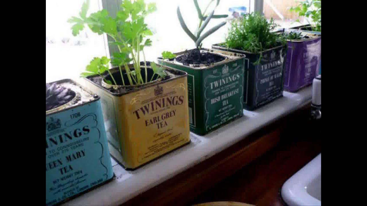 Small Space Herb Garden Ideas Youtube