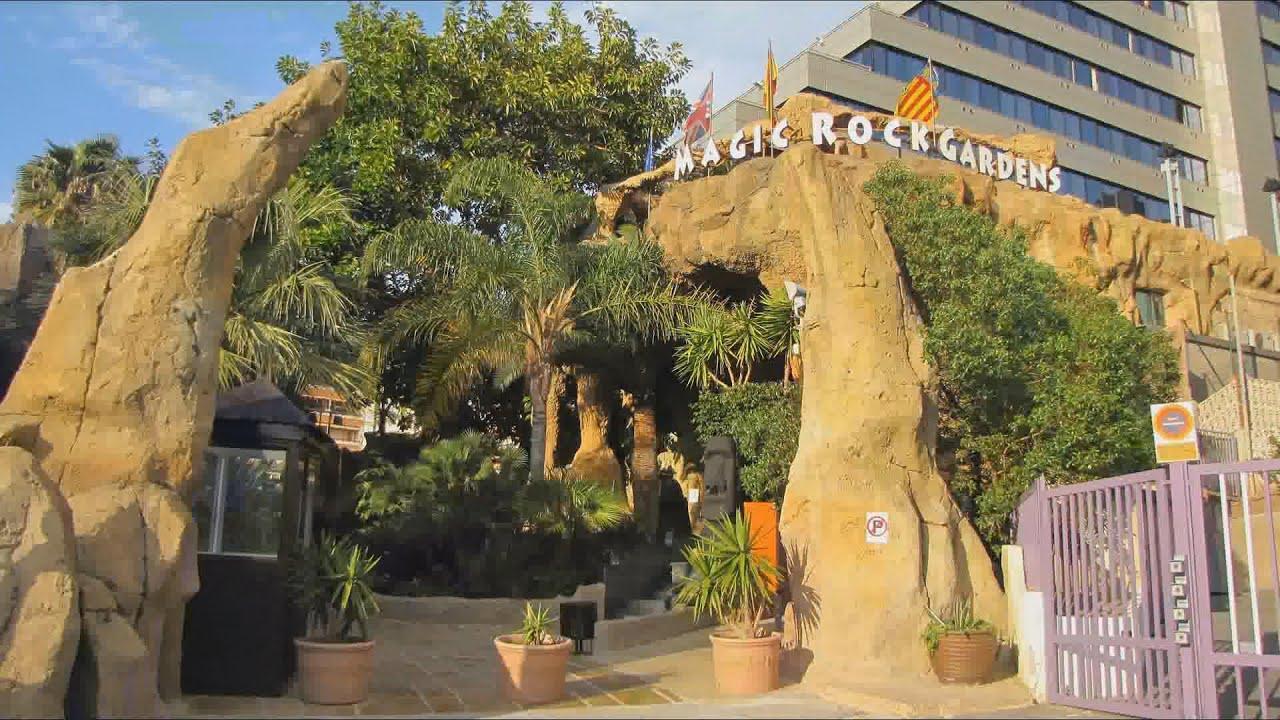 benidorm espa 241 a 2013 hotel magic rock gardens