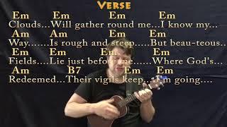 Wayfaring Stranger (Traditional) Ukulele Cover Lesson in Em with Chords/Lyrics