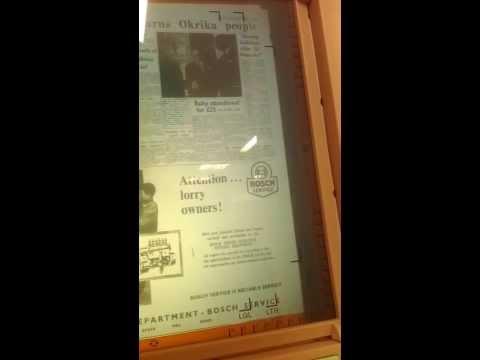 eye searching microfilm. Daily Express Lagos