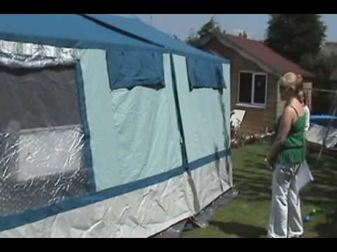 CONWAY VISION TRAILER TENT FOR SALE & CONWAY VISION TRAILER TENT FOR SALE - YouTube