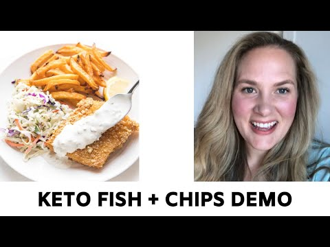 Whole30 + Keto Fish And Chips