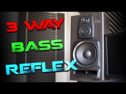 AIWA 3 WAY BASS SPEAKER TEST