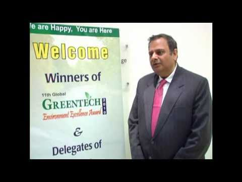 Greentech Foundation_Joint Secretary Ministry of Shipping  Govt. of India