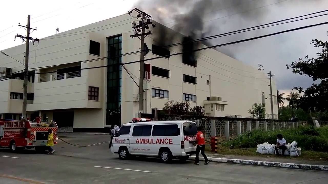 Fire In The Building Where Conchology Inc Is Located