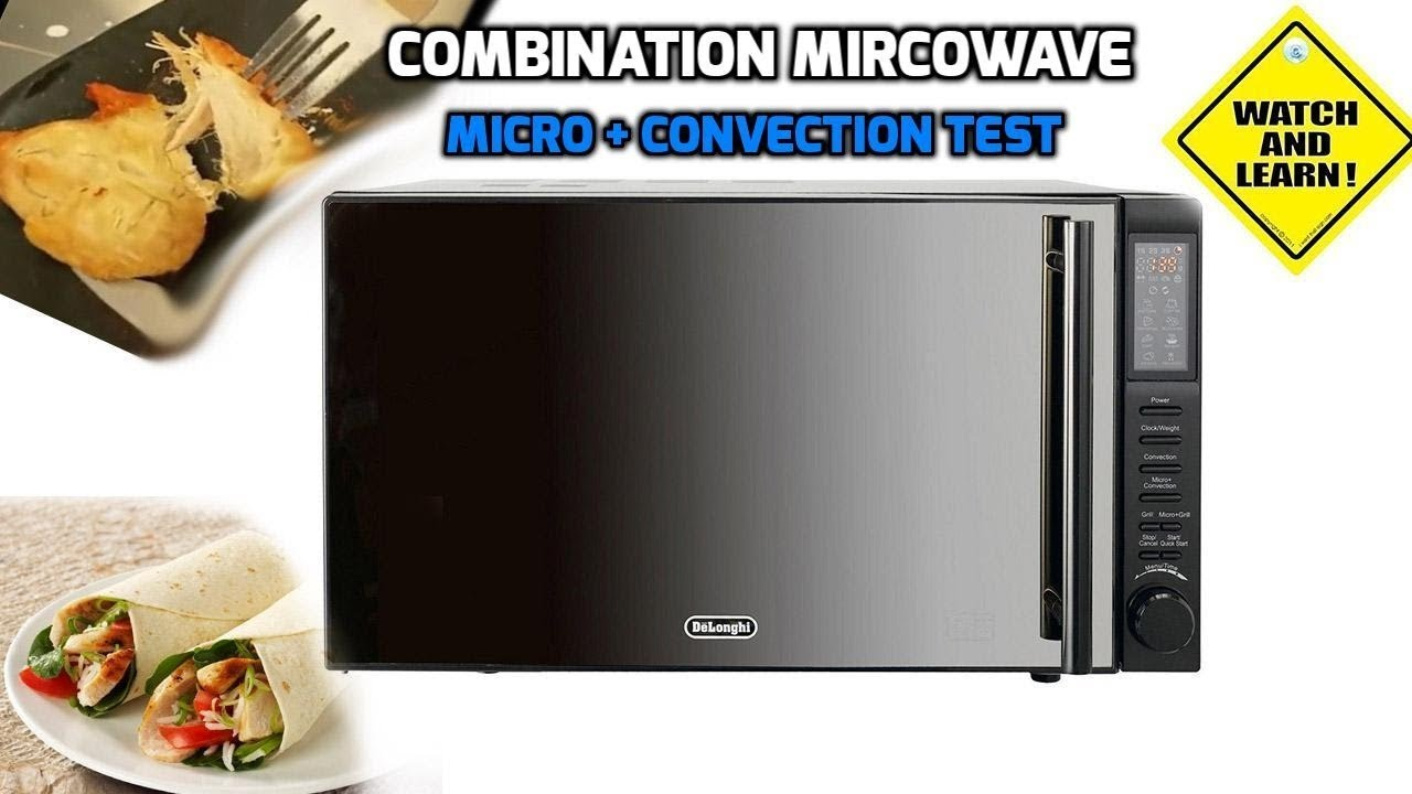 Delonghi 900w Combination Microwave Convection Oven Review And Test