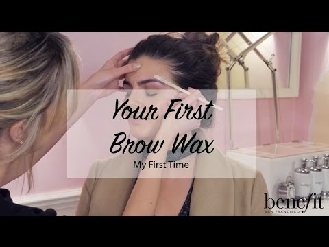 My First Time | Your First Brow Wax