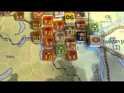 OCS - Baltic Gap - July 15th Turn (Solo)- German Surrender