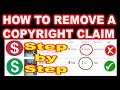 HOW TO REMOVE COPYRIGHT CLAIMS ON YOUTUBE 2020