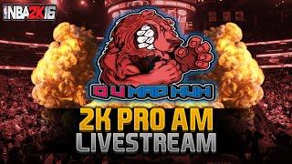 NBA 2K16 Pro Am Livestream - XCHASEMONEY WILL BE THE REASON! (PS4)