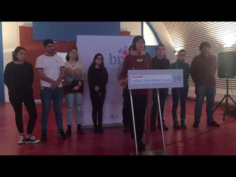 Ana Pontón destaca que foi a única muller candidata en 2016