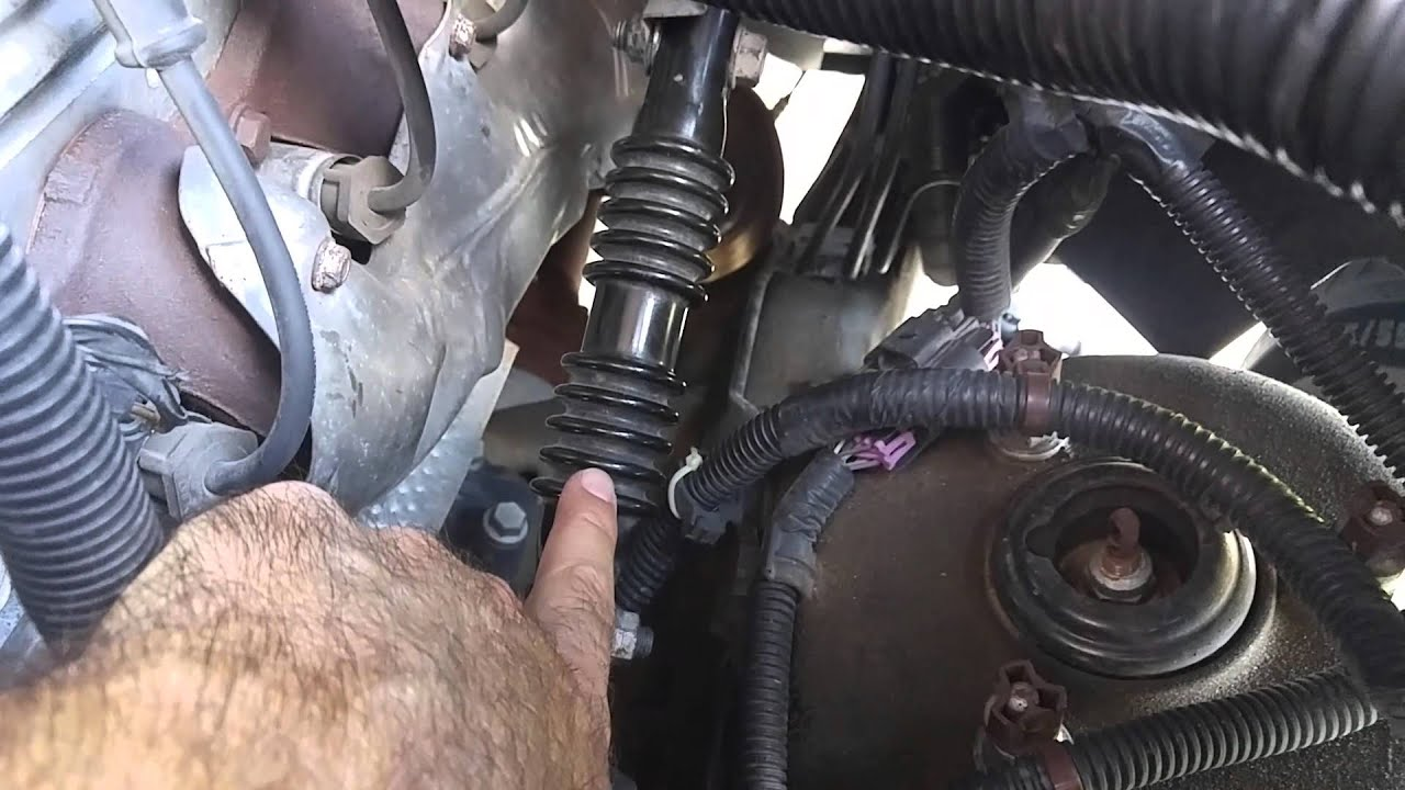 Replaced Lower Steering Coupling Shaft Youtube