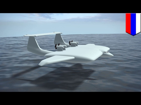 Airplane technology: Russia develops huge Ground Effect Vehicle that skims the ground - TomoNews