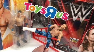 CRINGEY MAN OPENS AND PLAYS WITH WWE HBK FIGURE AT TOYSRUS