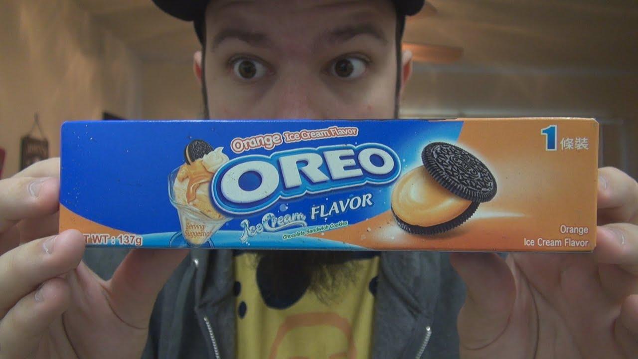 WE Shorts - Oreo Orange Ice Cream Flavor - YouTube