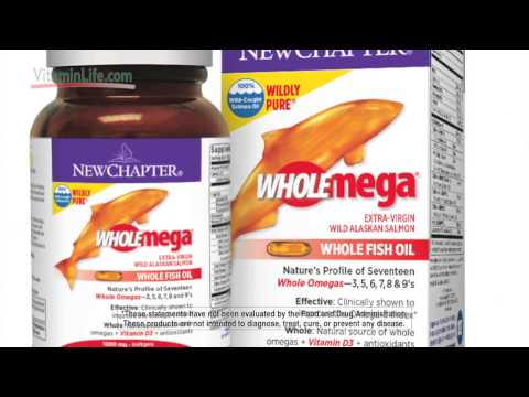 WholeMEGA® Salmon Oil By New Chapter® Presented By VitaminLife.com