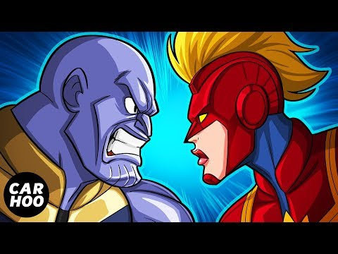 How Captain Marvel Will Defeat Thanos In Avengers 4 Endgame 【Marvel Superheroes Parody】