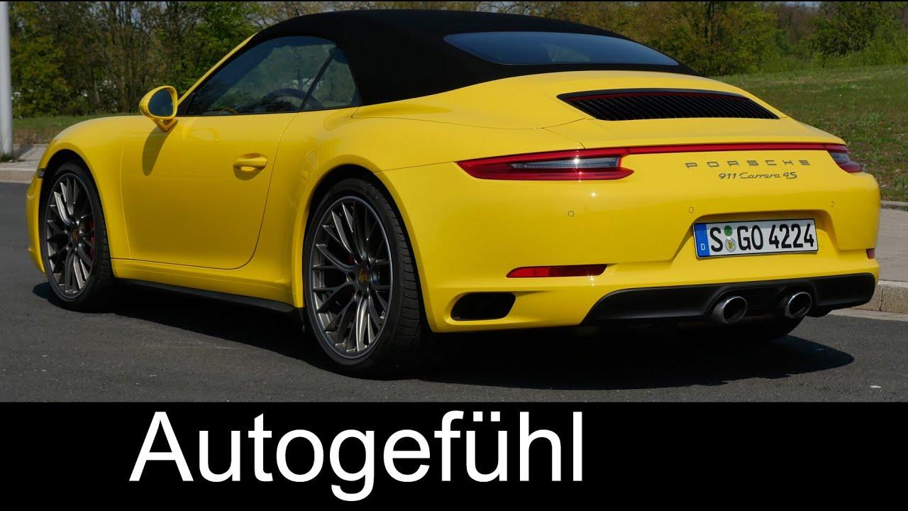 Sound & Performance test Porsche 911 Facelift Carrera 4S 0-200 km/h