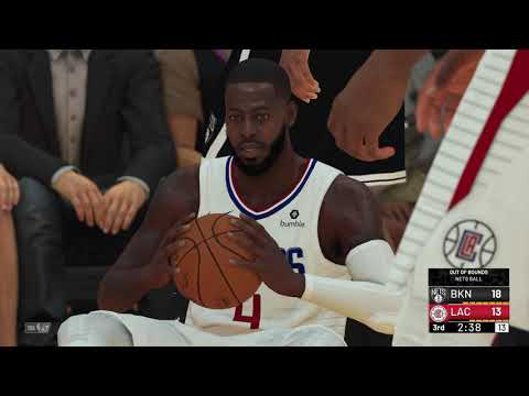 NBA 2K19 2020 Rosters Kevin Durant Brooklyn Nets vs Kawhi Leonard Los Angeles Clippers