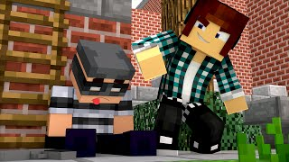 Minecraft:  FUI SALVO DO MALUCO !!