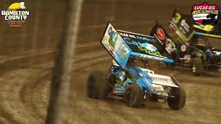 Lucas Oil American Sprint Car Series invades Hamilton County Speedway 8/18/18