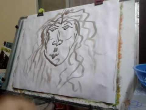 Portraits Painting Art Modern