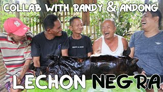 LECHON NEGRA IN AUTHENTIC SQUID INK | COLLAB WITH ANDONG & RANDY