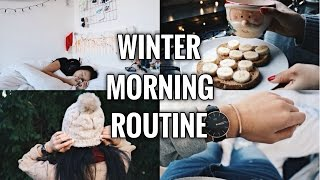 WINTER MORNING ROUTINE 2016 | LittleWorldOfEline