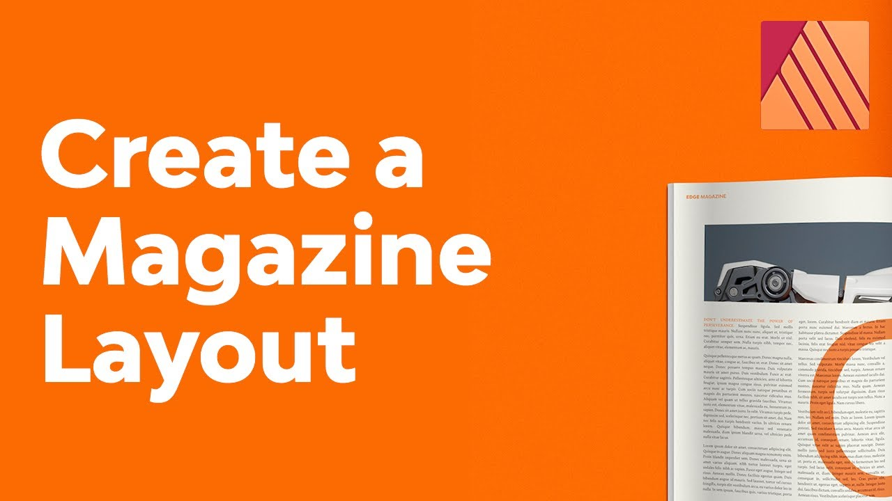 How to Create a Stylish Magazine Layout in Affinity Publisher | Free Template