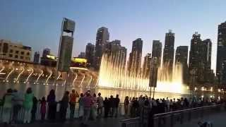 Downtown Dubai 'at a glance' || Bonus The Dubai Mall fountain show