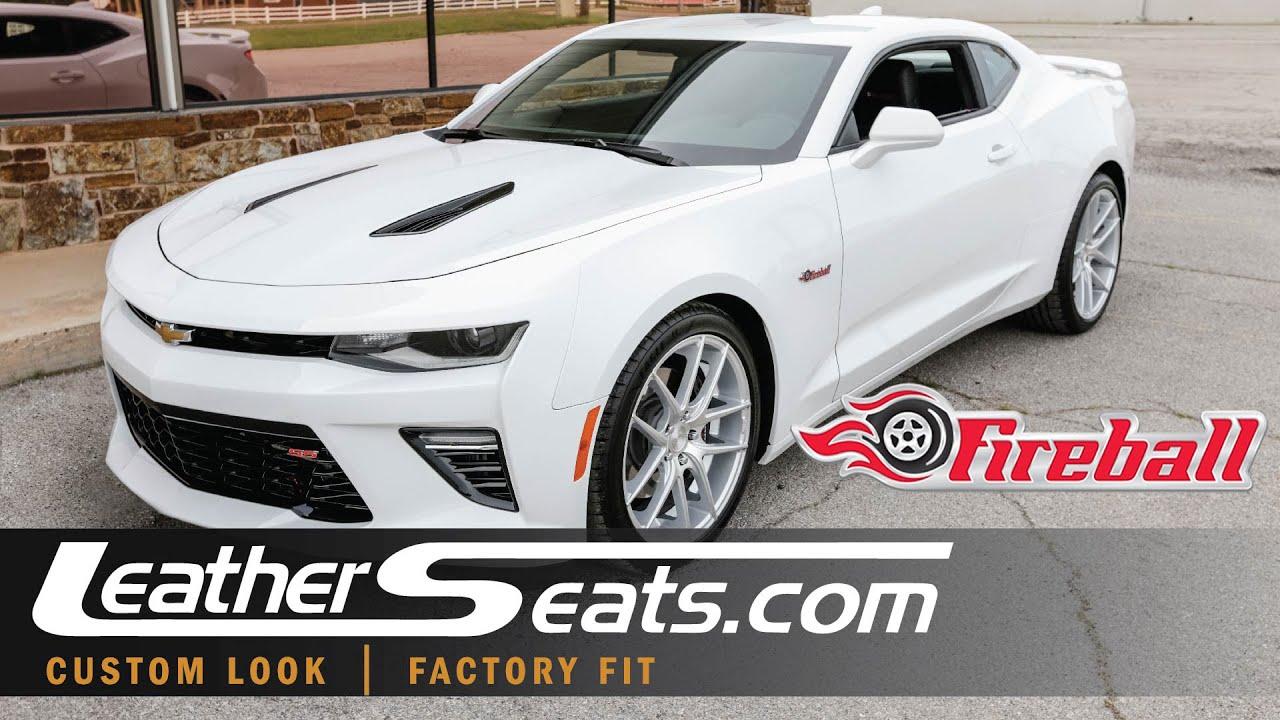 2016 Fireball Camaro SS Interior