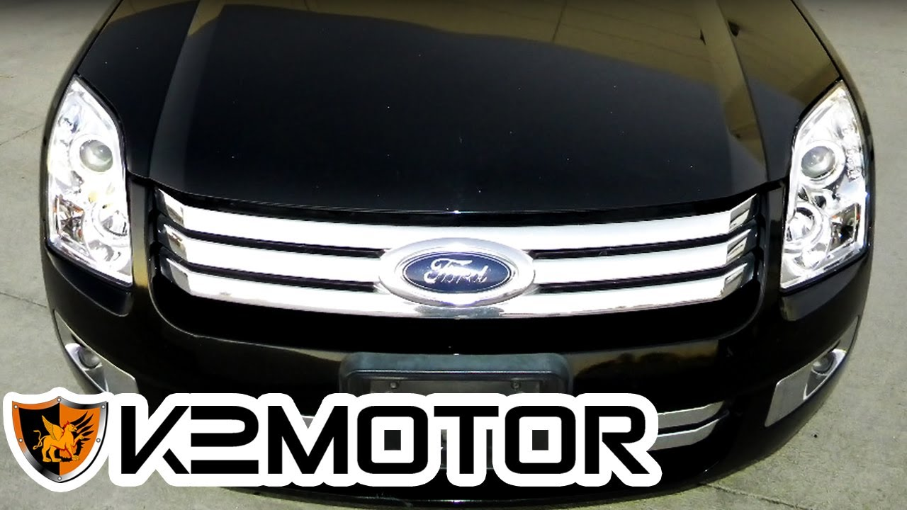 K2 Motor Installation Video 2006 2009 Ford Fusion Projector 2007 Radio Display Headlights Youtube