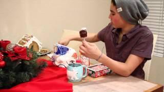 Christmas Marshmallow Cake Pop!