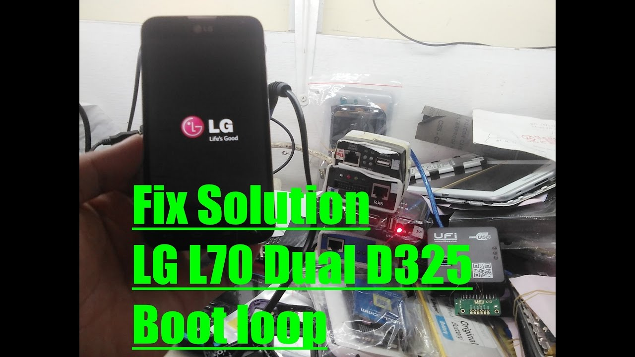 Fix Solution Lg L70 Dual D325 Boot Loop Youtube