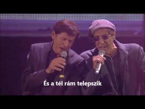 Adriano Celentano e Gianni Morandi - Ti penso e cambia il mondo (Magyar felirattal)