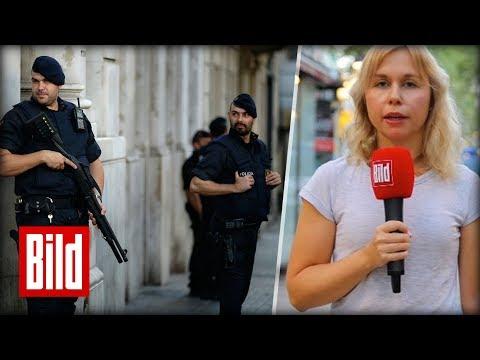 Barcelona am Morgen nach dem Anschlag - BILD-Reporterin vor Ort