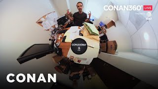 CONAN360° LIVE Highlight: Jordan Schlansky