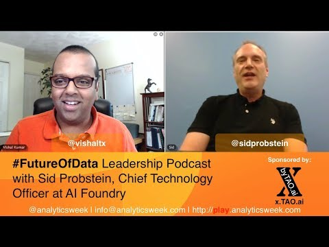 @SidProbstein / @AIFoundry on Leading Technology Transformation in #DataDriven World