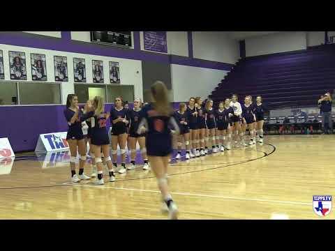 2019 4A Volleyball Championship: Geneva School of Boerne vs Lubbock Trinity Christian