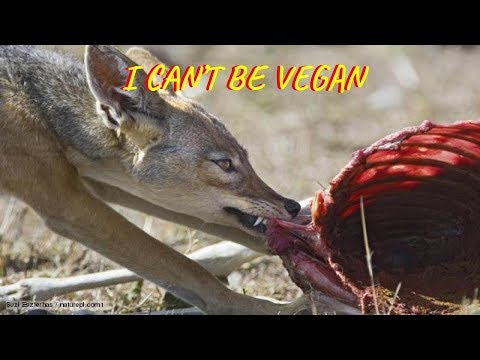 I CAN'T BE VEGAN