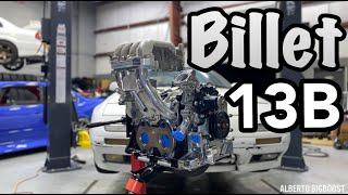 homepage tile video photo for 13B RACING ENGINE GETS BILLET RACING PARTS!