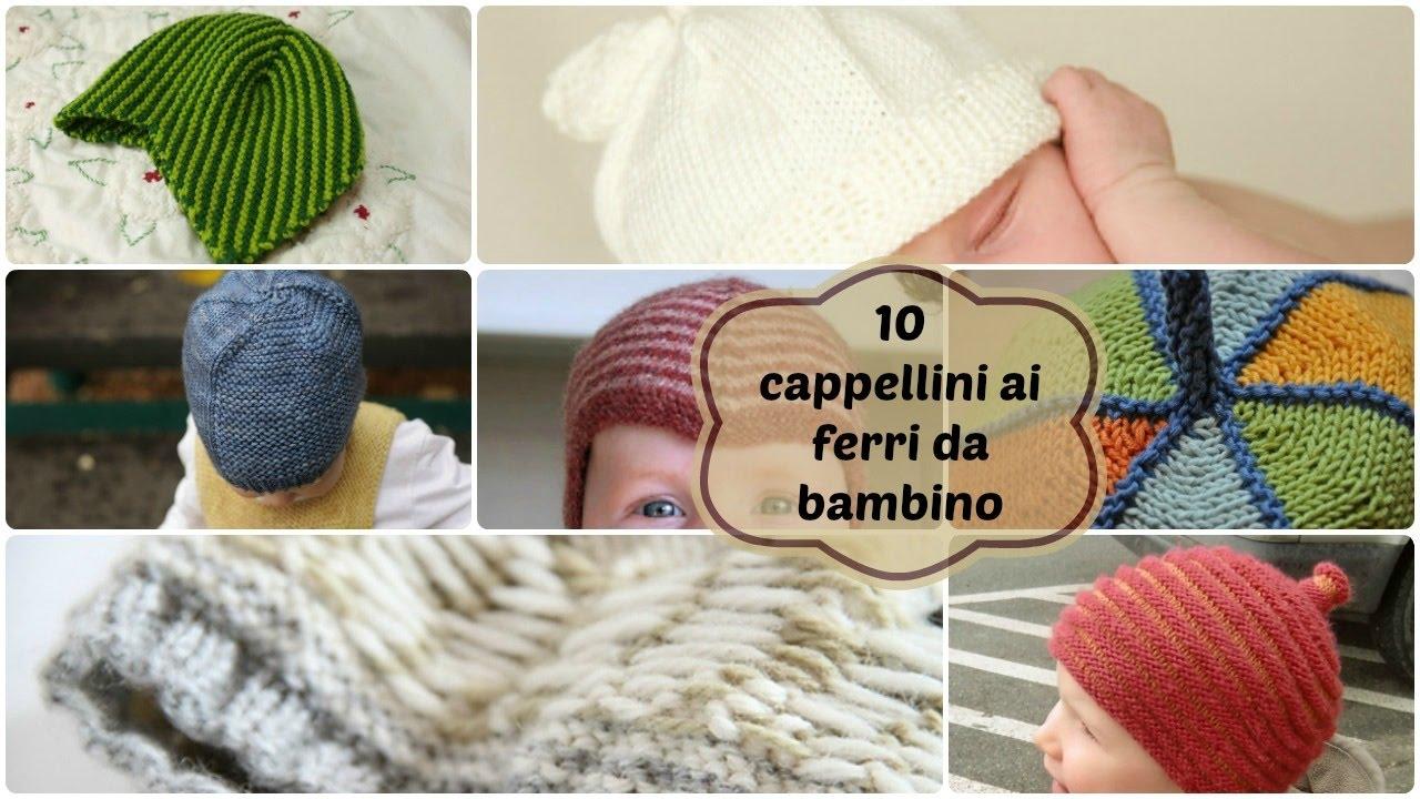 10 modelli di cappello da bambino - YouTube a9204112e7e7
