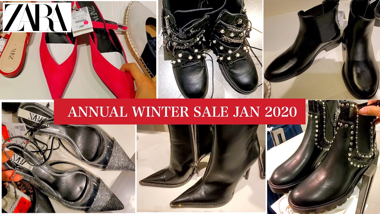 LADIES SHOE COLLECTION JANUARY 2020