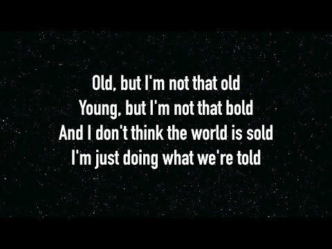One Republic - Counting Stars - Lyrics